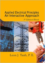Applied Electrical Principles An Interactive Approach – 3rd Edition (Beta)