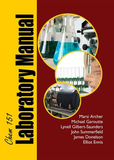 CHEM 151 Laboratory Manual (12th Edition)