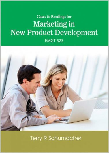 Cases & Readings for Marketing in New Product Development (EMGT 523)