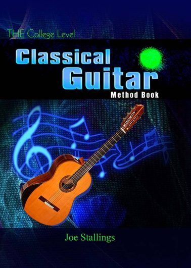 THE College Level Classical Guitar Method Book