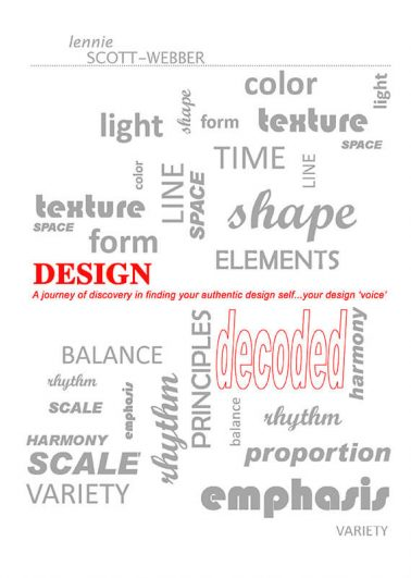 A journey of discovery in finding your authentic design self…your design 'voice' decoded