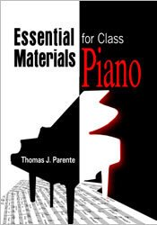 ESSENTIAL MATERIAL FOR CLASS PIANO