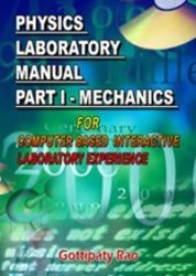 Physics Laboratory Manual Part I Mechanics Computer Based Interactive Laboratory Experience